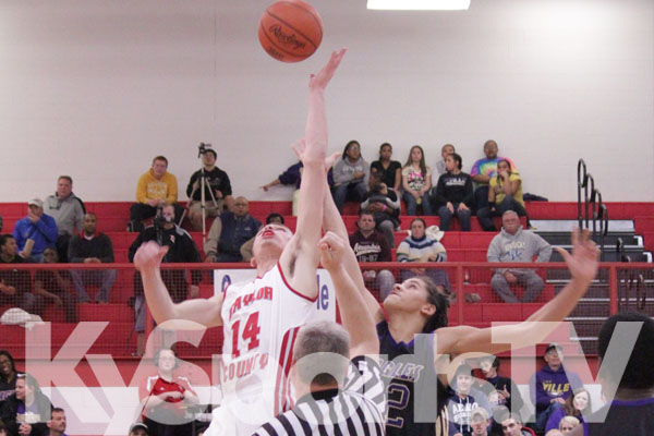 Campbellsville vs Taylor County basketball 2012-13