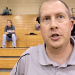 Coach David Hibbard – MCHS Vball 2013 – Postgame vs Elizabethtown – Video