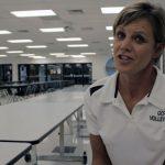 Coach Lynne Givens – GCHS Vball 2013 – Postgame vs Caverna – Video