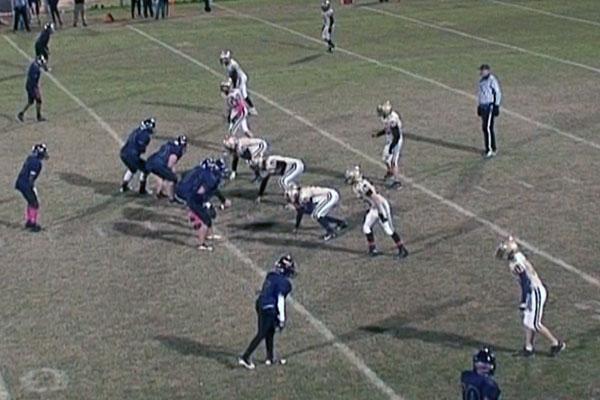 Meece Middle School vs Campbellsville Middle School football