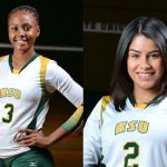 Kentucky State's Rivera & Kyle Get SIAC Vball Honors