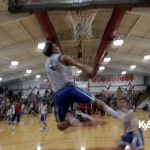 Eastern High School Warmup DUNKS At 2015 NUR Jamboree