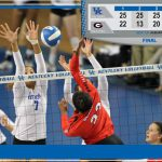 UK VB: No. 24 Wildcats Notch Win No. 20 in Sweep of Georgia