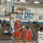 Caleb Williams Dunks on Scott County Defender