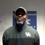 UK Track & Field Director Coach Edrick Floreal