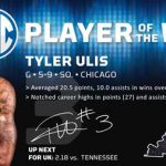Ulis, Murray Earn Player of the Week Accolades