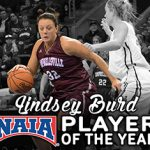 Campbellsville's WBB Lindsey Burd named NAIA Player of the Year