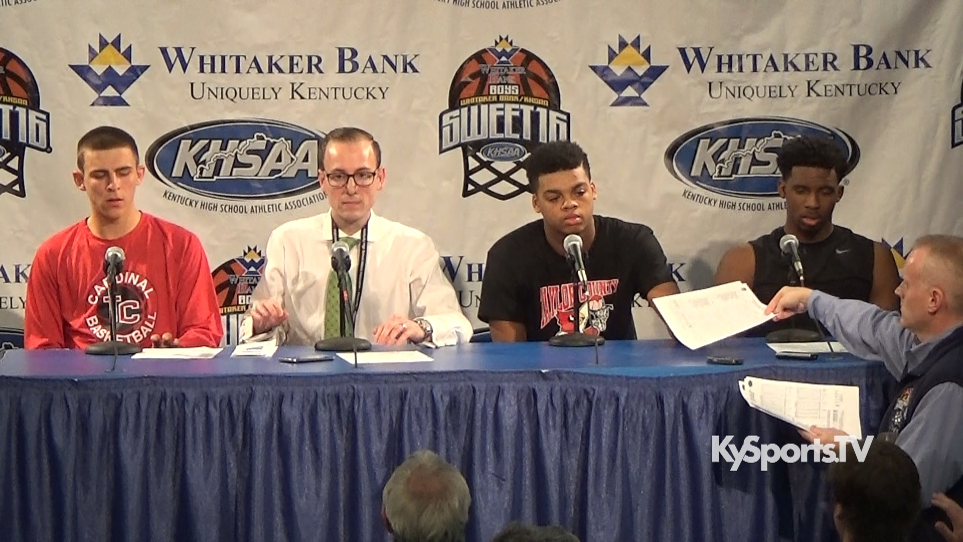Press conference at 2016 sweet 16