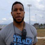 Coach Brandon Adams on Central Hardin HS Track & Field 2016