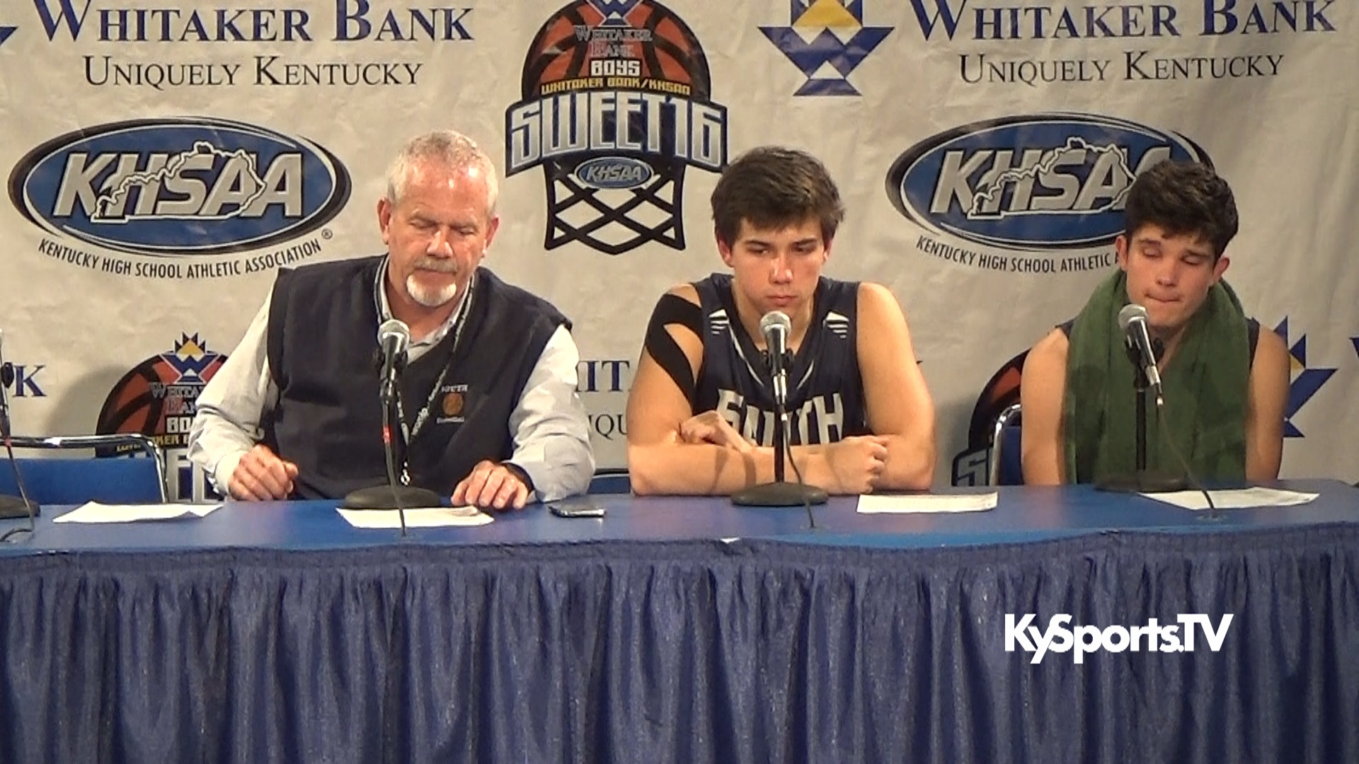 2016 Whitaker Bank KHSAA Sweet 16