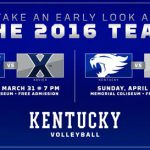 UK Volleyball Spring Schedule Begins With 2 Home Matches This Wk