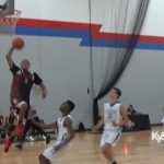 David Sloan DUNK in 3 Stripes Tourney for Louisville Magic
