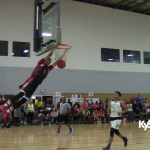 Chance Moore steal & breakaway DUNK in 3 Stripes Tourney