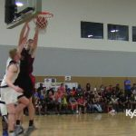 Chris Vogt DUNKS on twin defenders in 3 Stripes Tourney