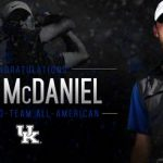 UK MGOLF's McDaniel Breaks Kentucky State Am Tournament Record