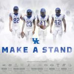 UK Football Poster Honors Four Players Who Integrated SEC