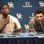 Denver Nuggets guard Jamal Murray & Former UK Basketball Player Alex Poythress