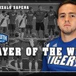 Campbellsville Soccer's Sapena earns MSC Defensive Player of the Wk honors