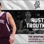 Troutman receives preseason All-America accolade from The Sporting News