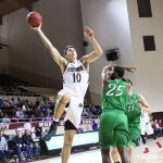 Mayo's Career Game Leads EKU MBB past Marshall 89-80