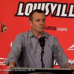 Louisville WBB Coach Jeff Walz on 68-81 Win over Western Kentucky