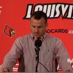 Louisville WBB Coach Jeff Walz on win over Evansville
