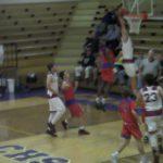ISAAC LANHAM soars for the SLAM DUNK for Marion Co HS vs Mercer Co