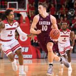 Mayo leads EKU MBB To Big Road Win at Jacksonville State