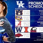 Kentucky Gymnastics Announces 2017 Promotional Schedule