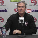 WKU MBB Coach Rick Stansbury 1-19-17 previews Marshall