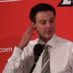Louisville Cardinals Coach Rick Pitino on 85-60 WIN vs NC State