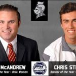 Bellarmine Track & Field's Striegel, McAndrew honored with awards by KTCCCA