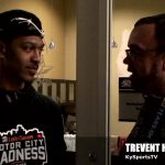 Trevent Hayes Interviews Mason Faulkner of NKU Basketball