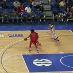 Damon Tobler Nasty DUNK in Sweet 16 For Perry County Central HS