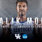 UK MBB's Monk Earns Consensus All-America Second Team Status with AP Honor