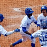 UK Baseball Rolls to Win in SEC Tournament Opener