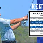 UK MGOLF's Euler's Surge has Wildcats in Hunt with 18 Holes to Play