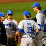 Early Deficit Proves Too Much For No. 8 UK Baseball to Overcome