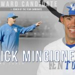 UK Baseball's Nick Mingione Is Coach of Year Candidate
