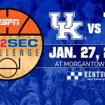 UK MBB Draws Road Trip to West Virginia for Big 12/SEC Challenge