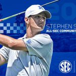 UK MGOLF's Stallings Tabbed to All-SEC Community Service Team