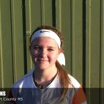Trevent Hayes Interviews Katie Collins of Hart County HS Softball