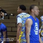 NLA vs Texas Jazz Elite 17U – 2017 And 1 DTG AAU Basketball – Louisville