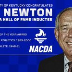 Former UK director of athletics C.M. Newton Inducted into NACDA Hall of Fame