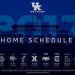 University of Kentucky Mens Soccer Unveils 2017 Schedule