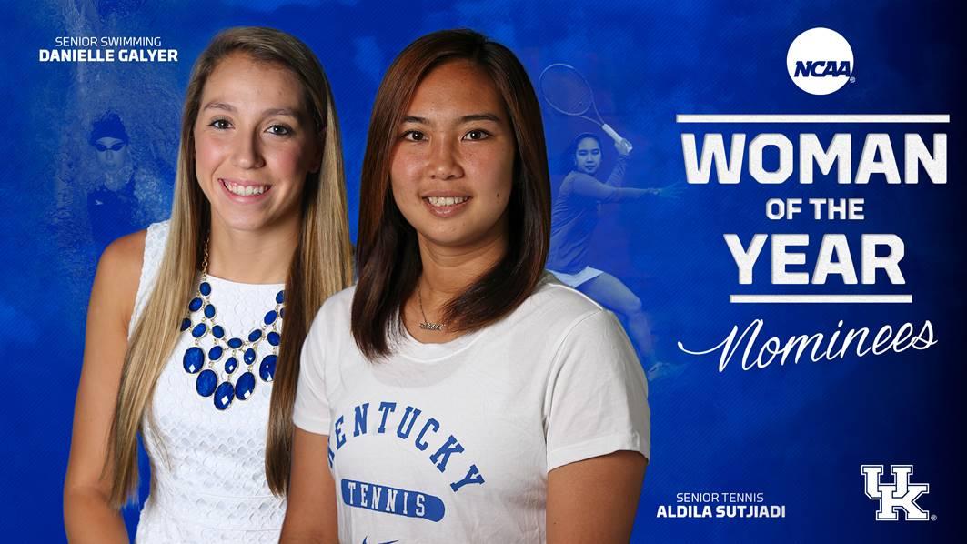 UK's Danielle Galyer & Aldila Sutjiadi Named NCAA Woman of ...