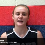 Trevent Hayes Interviews Elizabeth Bertram of Southern Kentucky STARZ AAU