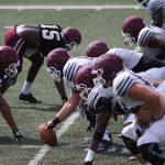 EKU Preeason Football Camp: Practice 14, Offensive Line