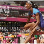 UK Track & Field Alumna Kendra Harrison into World 100H Final