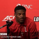 Lamar Jackson on UofL Cardinals Football WIN over Purdue in 2017 Season Opener
